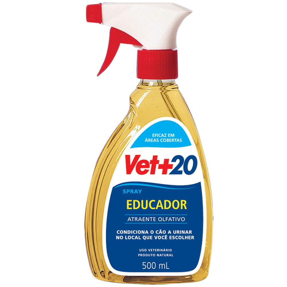 Educador Sanitário Spray Vet+20 para Cães - 500ml
