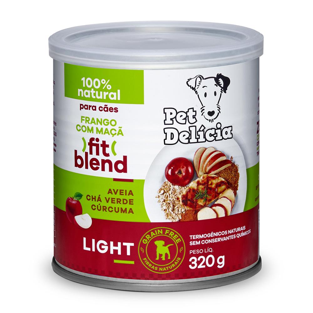 Pet Delícia Frango com Maças Alimentação Natural para Cães - Ração Úmida