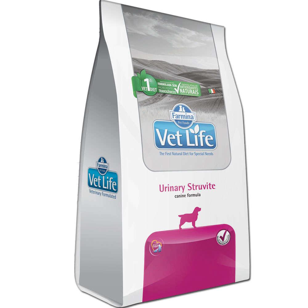 Ração Farmina Vet Life Urinary Struvite para Cães