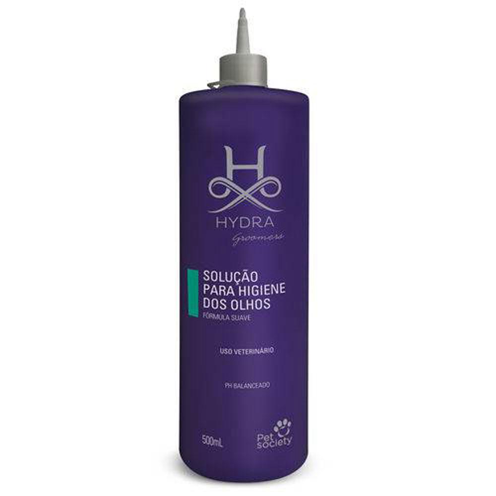 Solução para Higiene dos Olhos Pet Society Hydra Groomers - 500ml