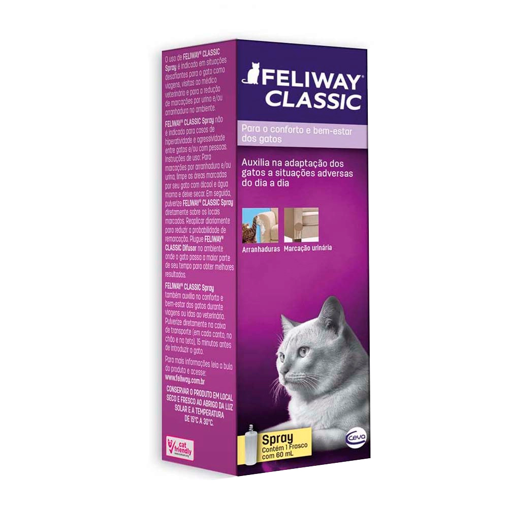 Spray Ceva Feliway para Gatos - 60 ml