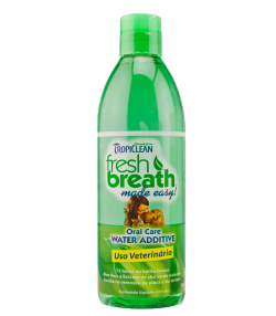 Aditivo para Água Fresh Breath Tropiclean Higiene Oral - 473 ml