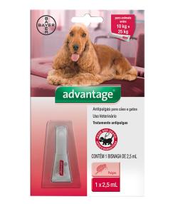 Advantage para Cães e Gatos de 10 a 25 kg - 2