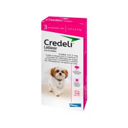 Antipulgas Novartis Credeli para Cães 2,5 a 5,5kg