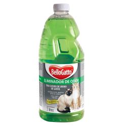 Eliminador de Odor Bellogatto para Gatos - 2L