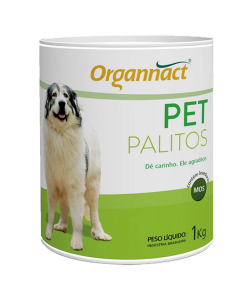 Organnact Pet Palitos Probiótico