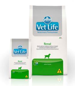 Ração Vet Life Canine Renal