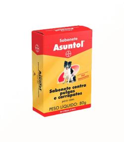 Sabonete Antipulgas e Carrapatos Bayer Asuntol - 80g
