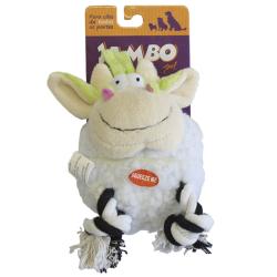 Brinquedo Pelúcia Mordedor Jambo Vaquinha Moo Branca